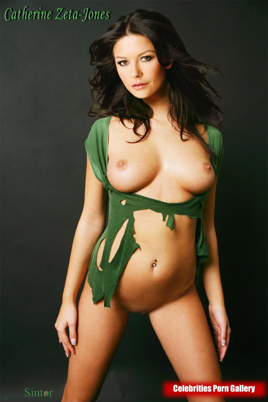 Catherine Zeta-Jones  nackt