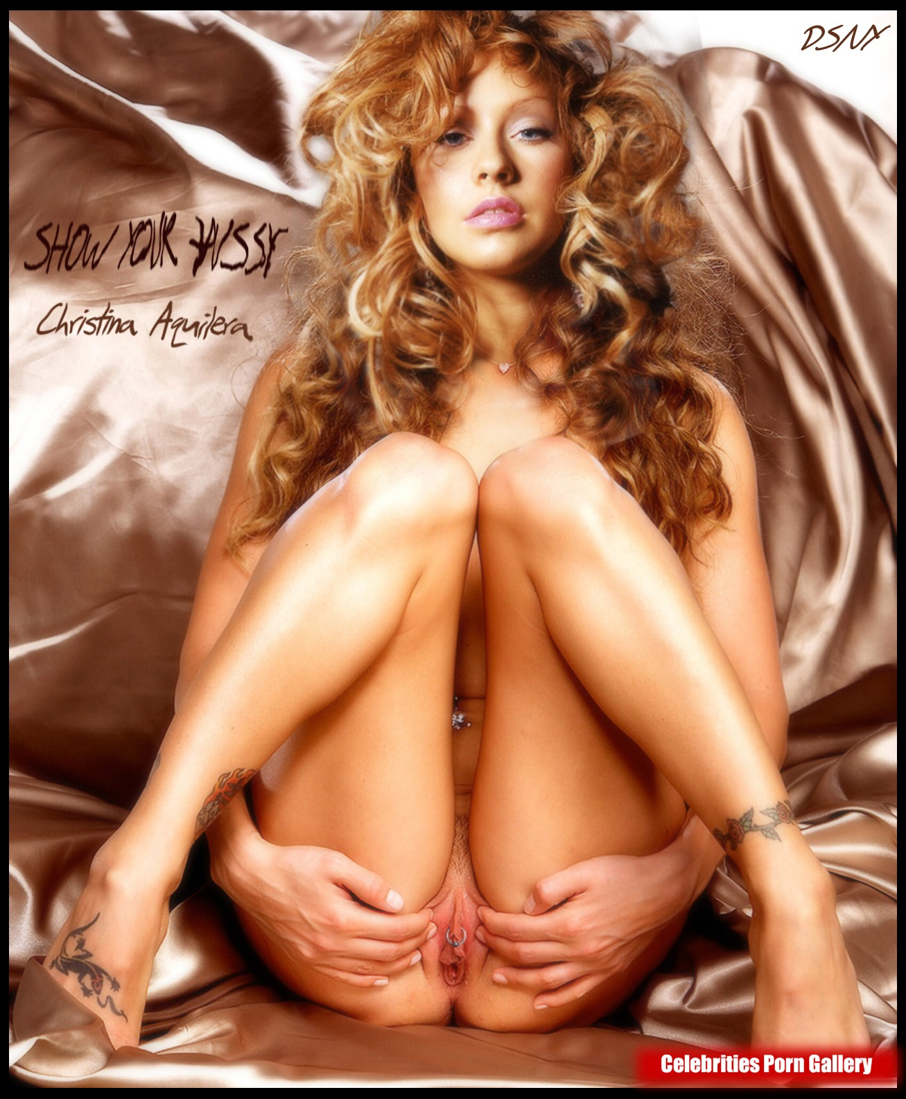 from Keagan christina aguilera naked in the streets