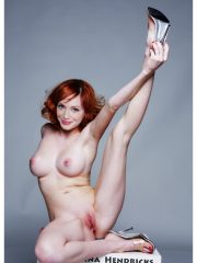 Christina Hendricks Celebs Naked