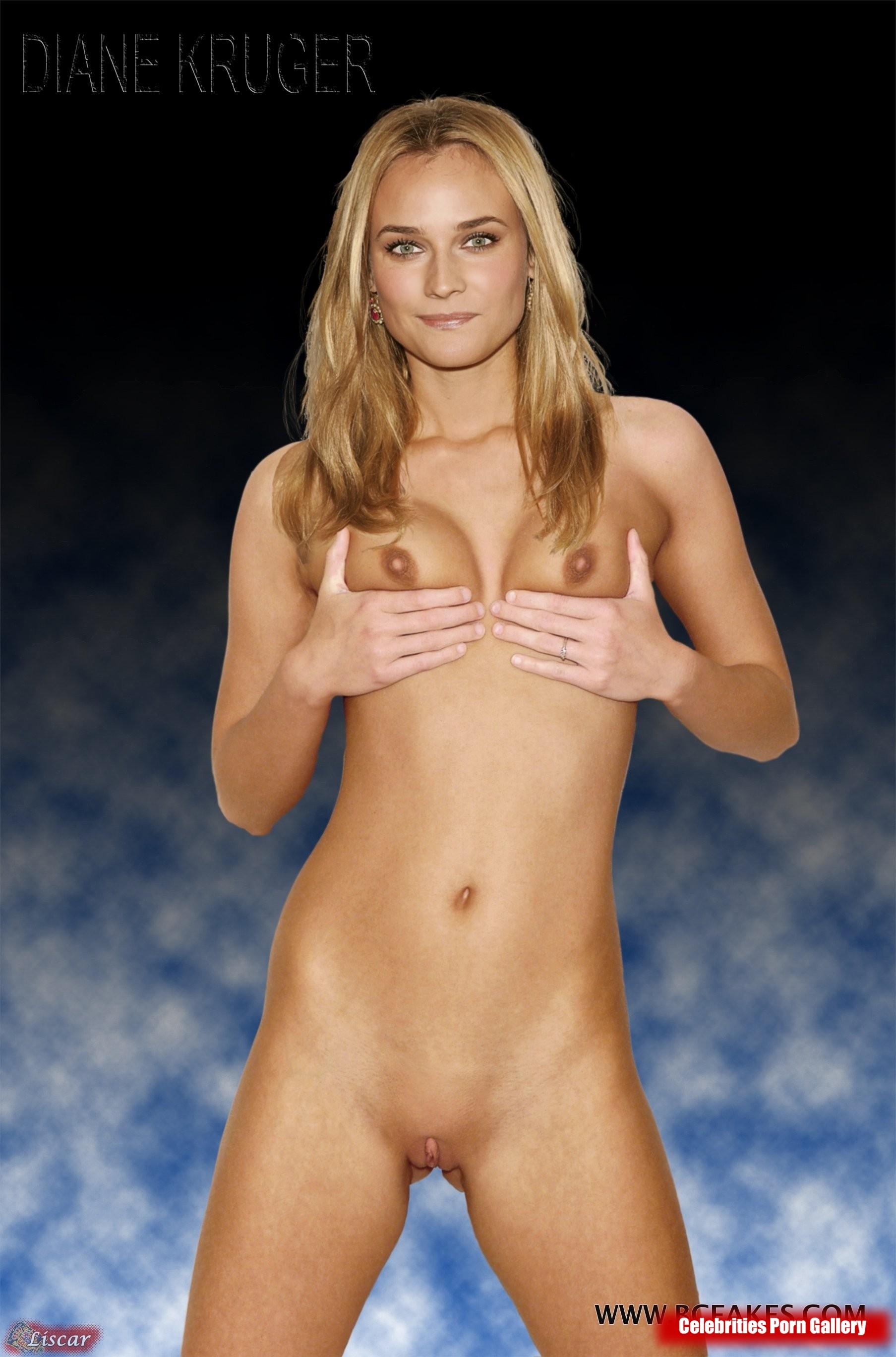 Naked diane kruger Diane Kruger