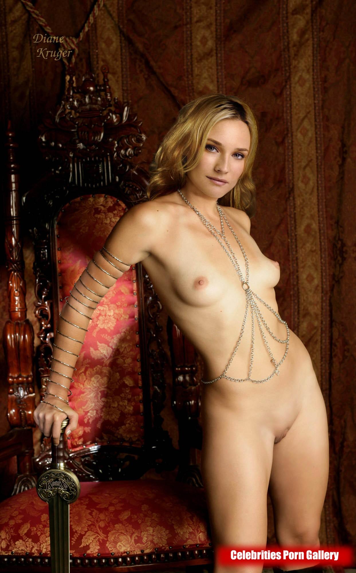 Nackt ines krüger Joanna Lumley