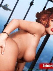 Gillian Anderson Real Celebrity Nude image 23