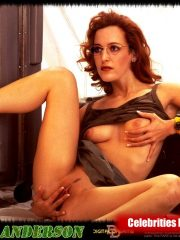 Gillian Anderson Nude Celebrity Pictures image 28