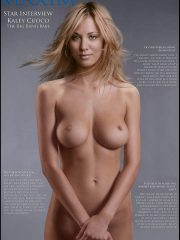 Kaley Cuoco Nude Celebrity Pictures image 12