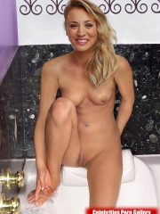 Kaley Cuoco Nude Celeb image 29