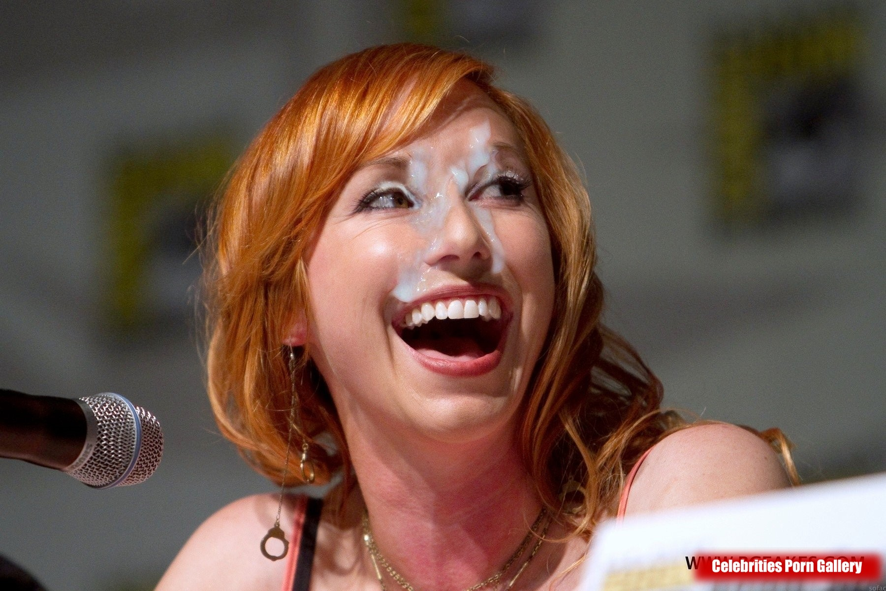 Kari Byron Cum Facial Fake 001 « Celebrity Fakes 4U