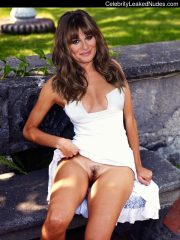 Lea Michele naked celebrity