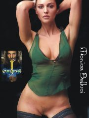 Monica Bellucci Naked Celebrity Pics image 24