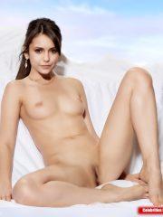Nina Dobrev Celeb Nude