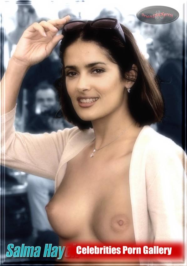 nude pics of selma hayek № 75970