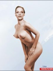 Uma Thurman Real Celebrity Nude