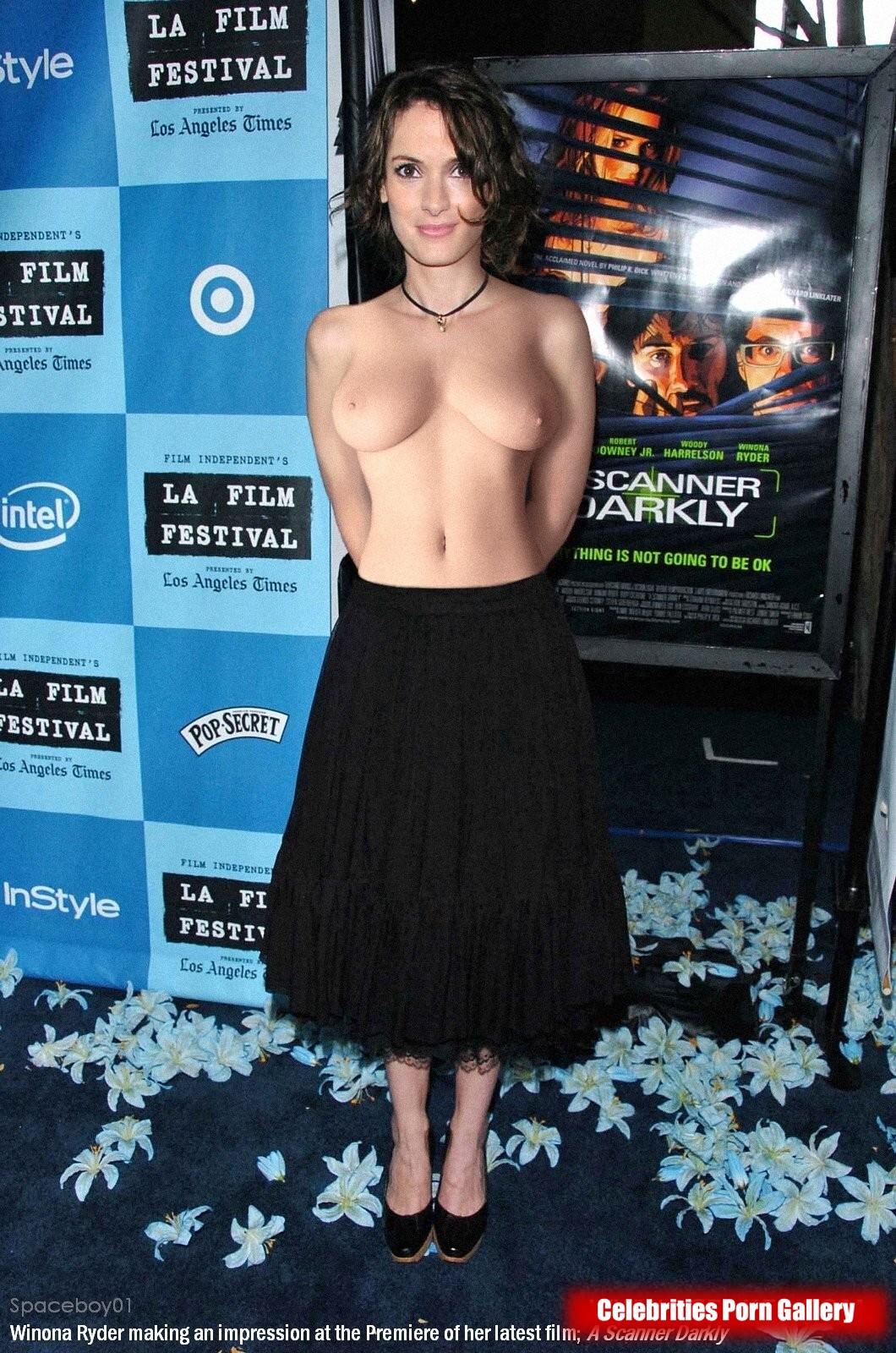 Winona ryder naked