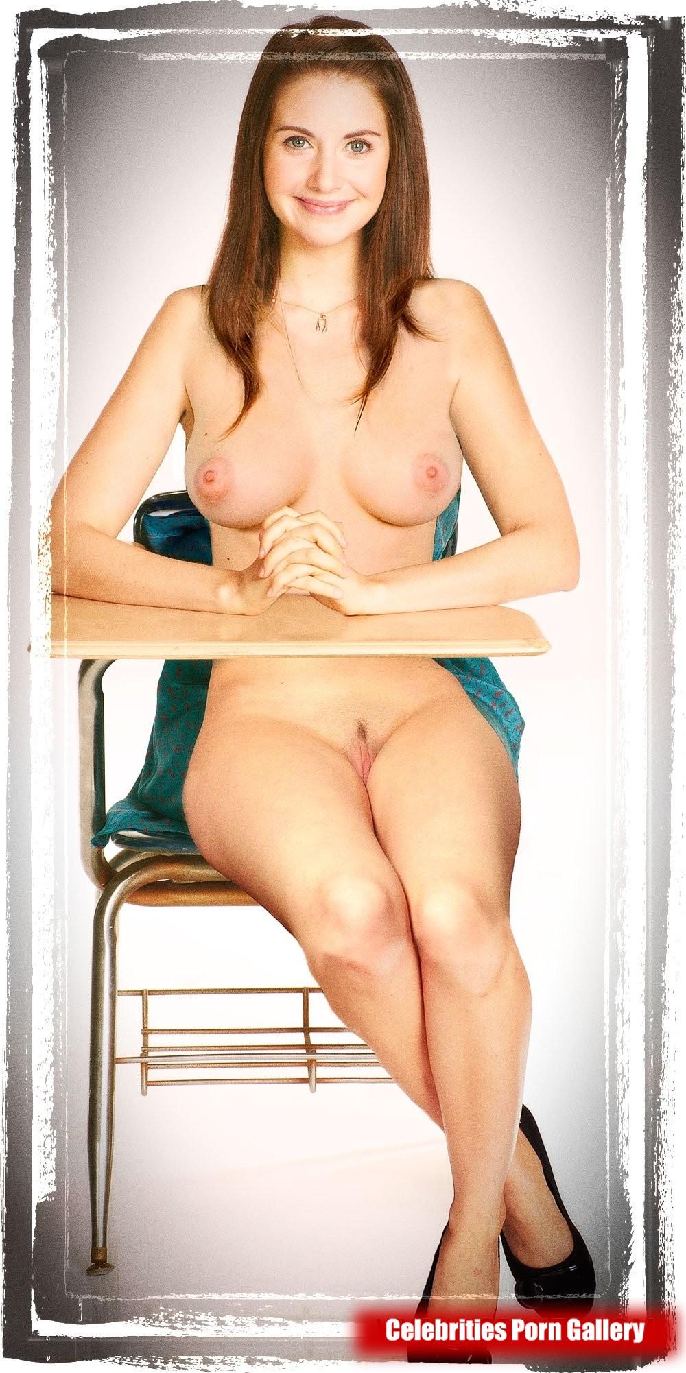 Alison Brie Nude Gif