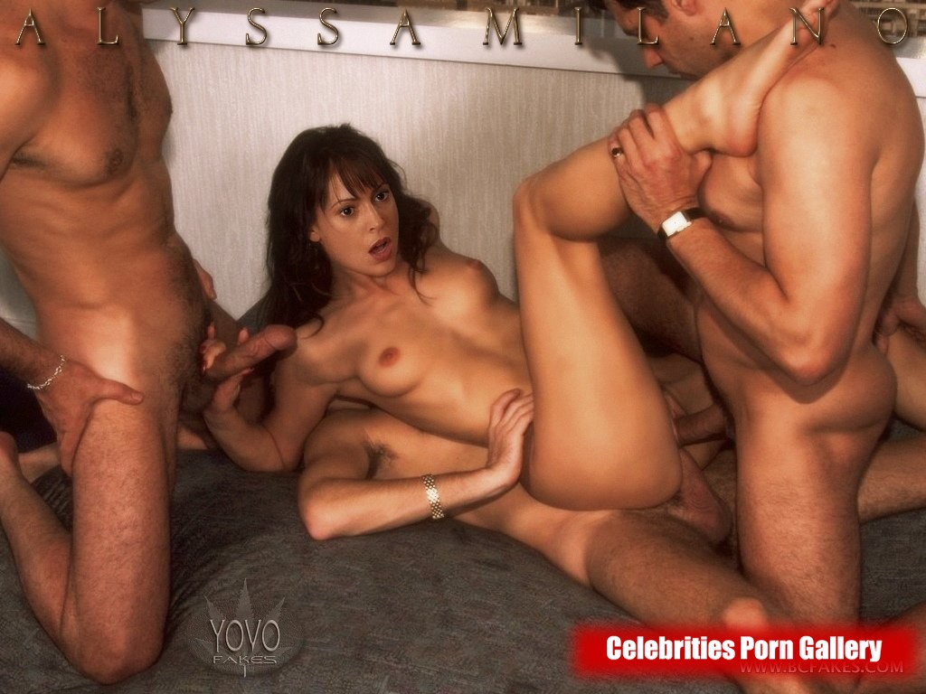 sex alyssa milano naked
