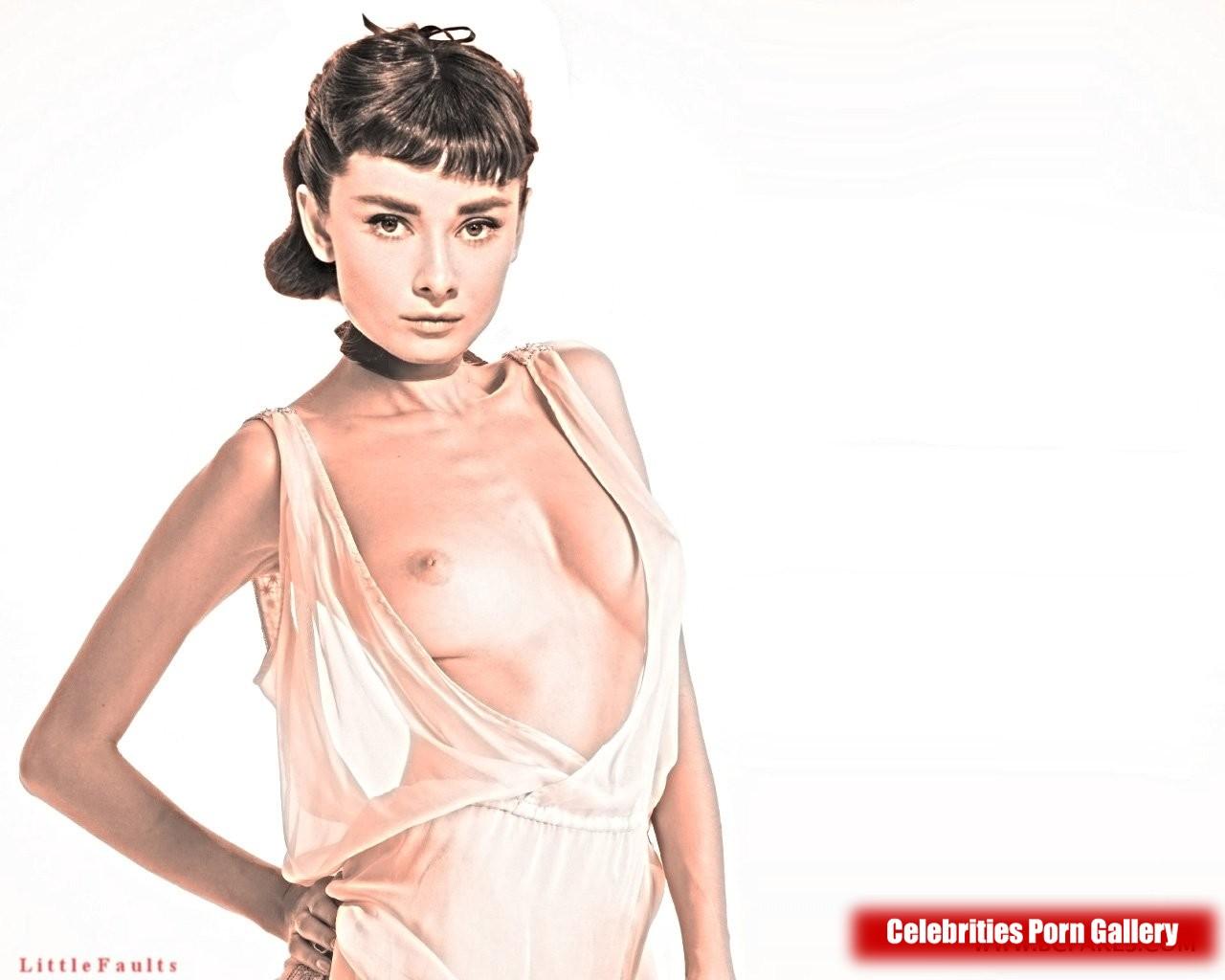 audrey hepburn fake nude