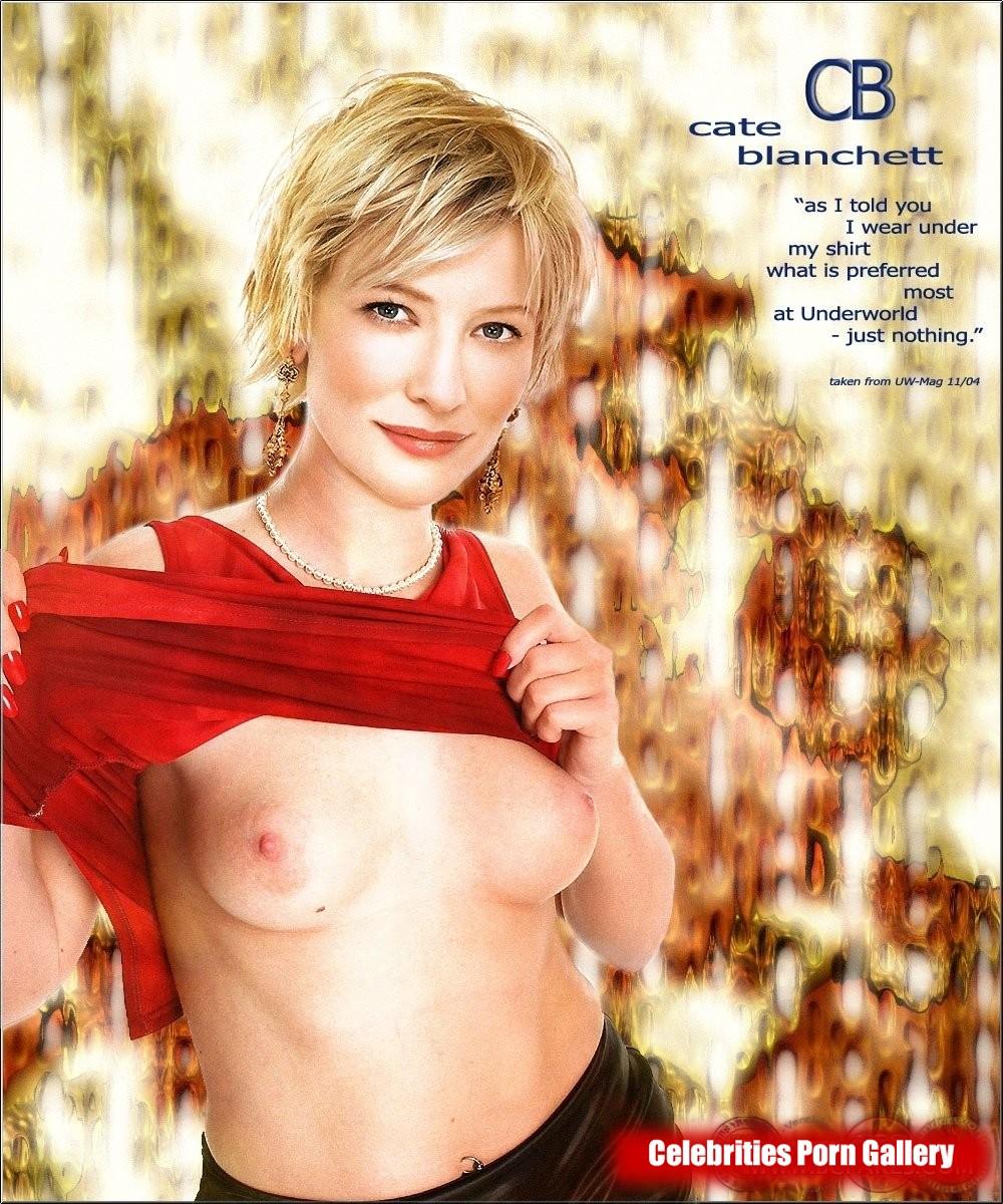 Cate blanchette nude pics