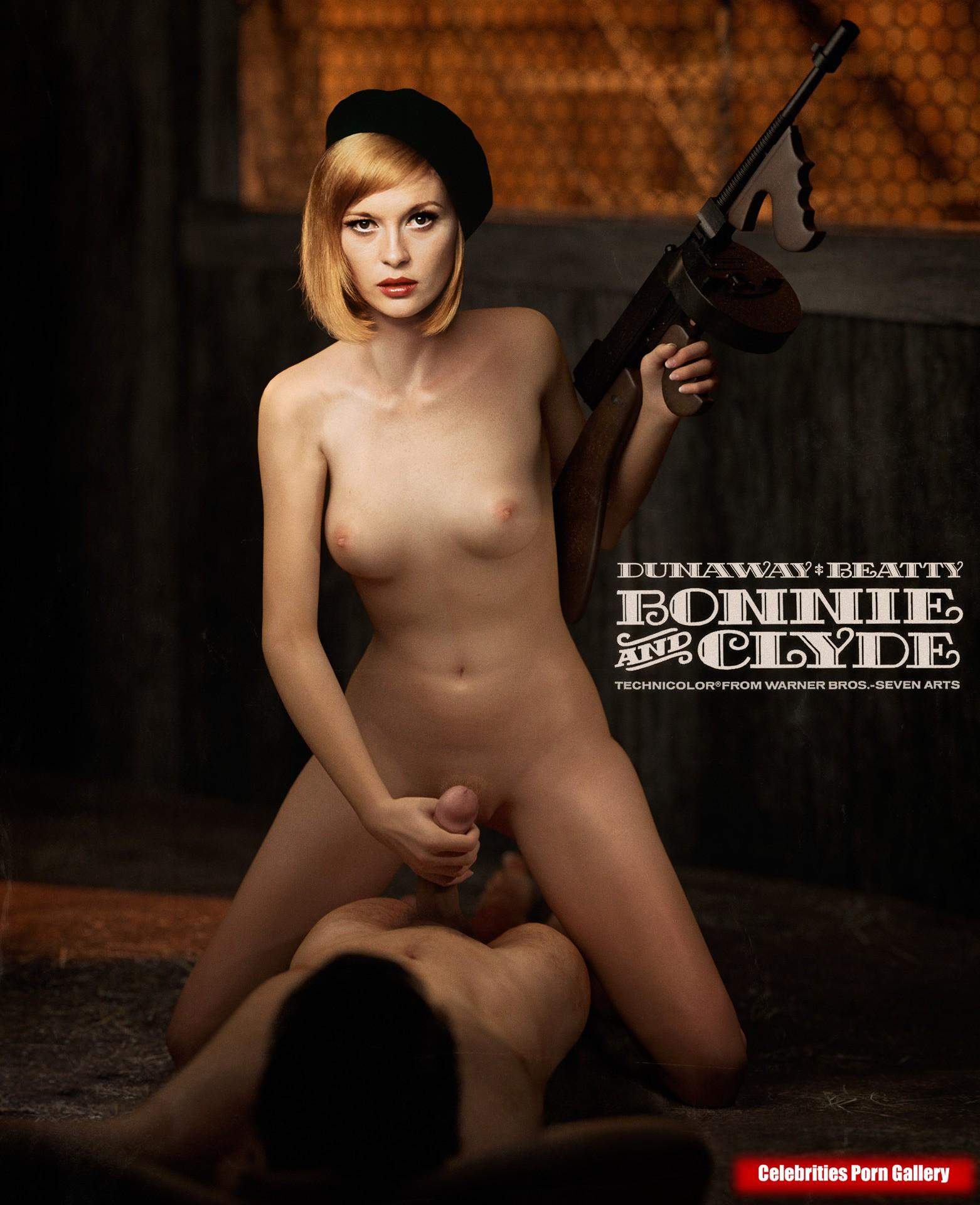 faye dunaway topless