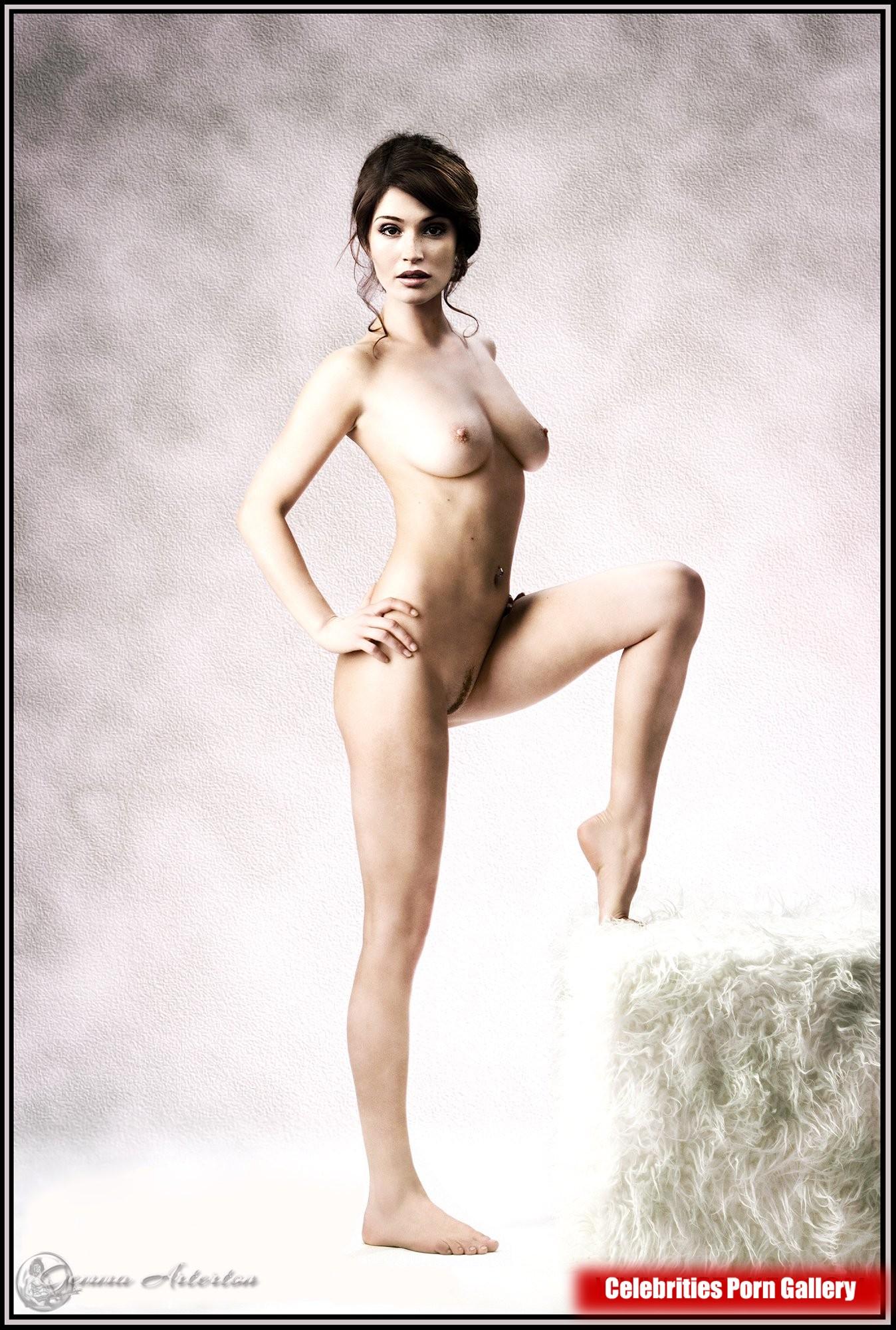 Naked gemma arterton spreads her legs