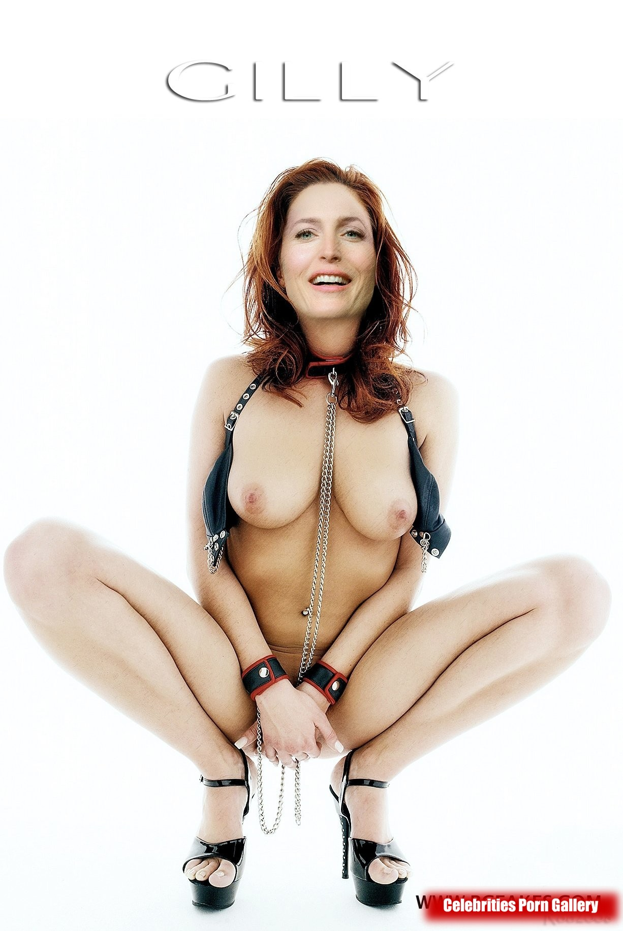Remember Scully? Gillian Anderson NUDE Pics + 90's Collection!