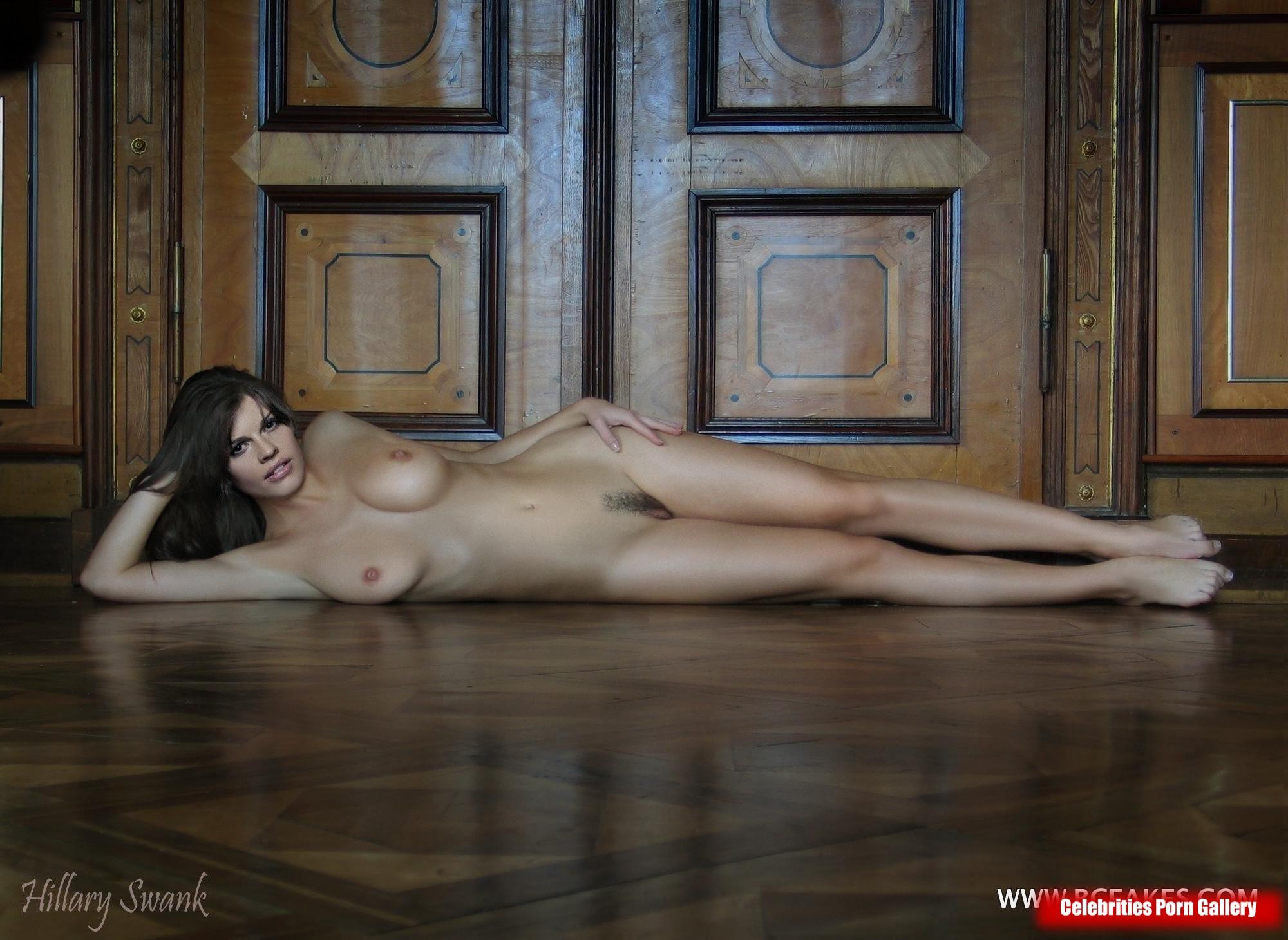 Topless hilary swank Sexy Hilary