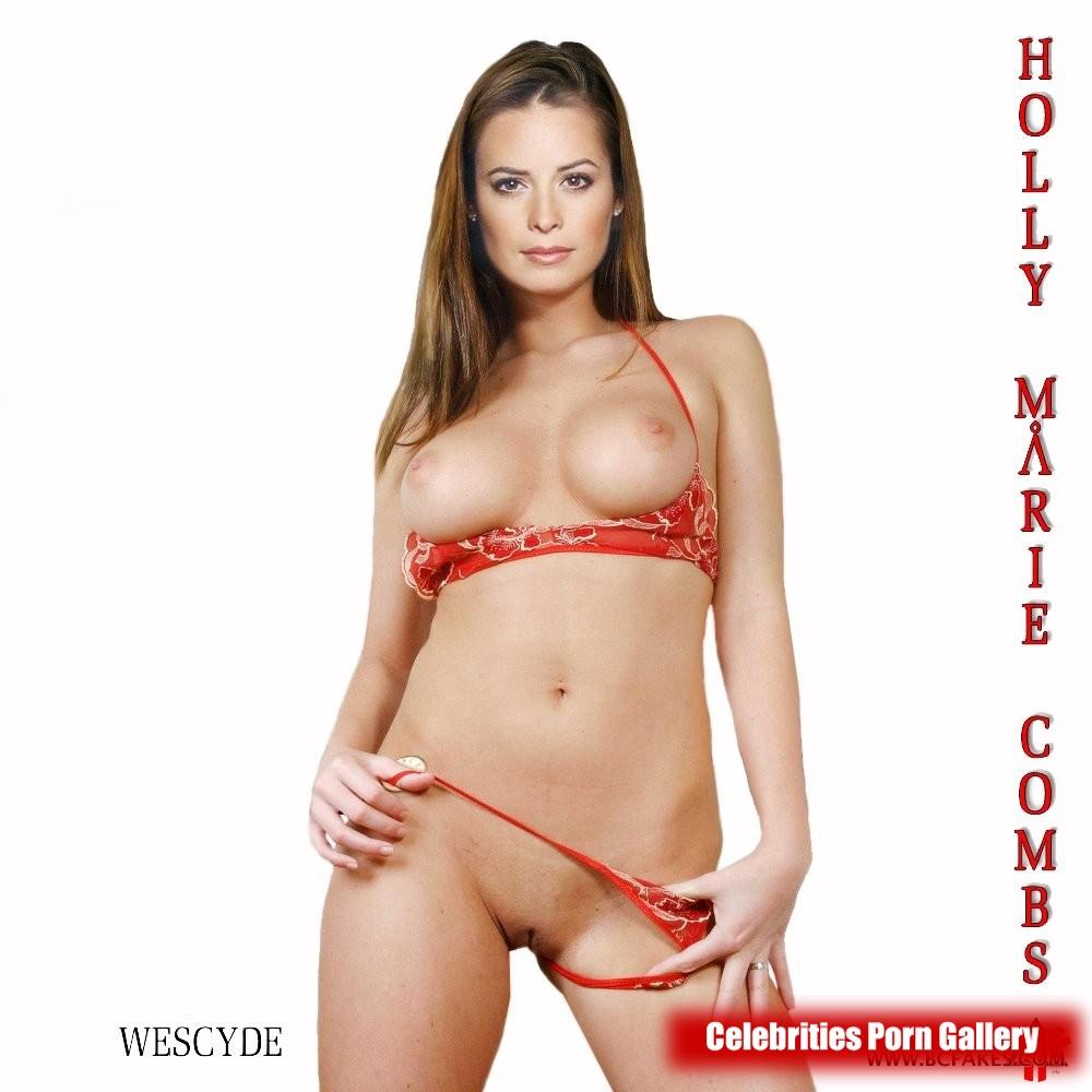 Holly Marie Comb Alyssa Milano Nude