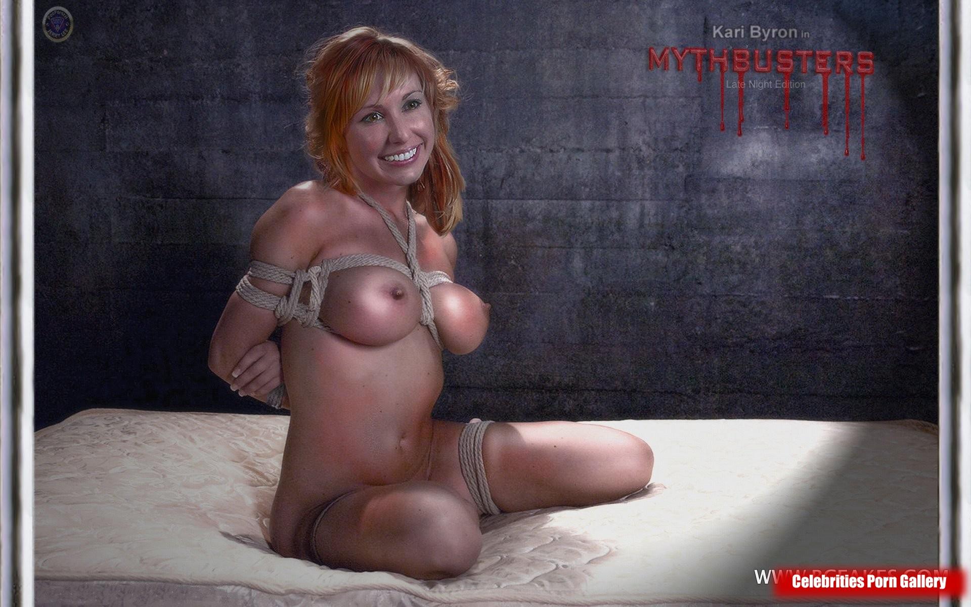Kari byron mythbusters fakesx fake porn pics xxx hot sexy celeb nude girl photo full galleries naked