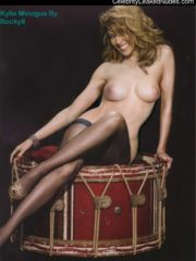Kylie Minogue Naked Celebritys image 2