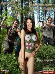 Lauren Cohan Naked Celebrity Pics