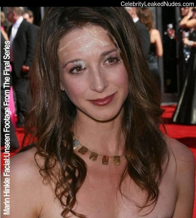 Naked Marin Hinkle In Two And A Half Men Ancensored