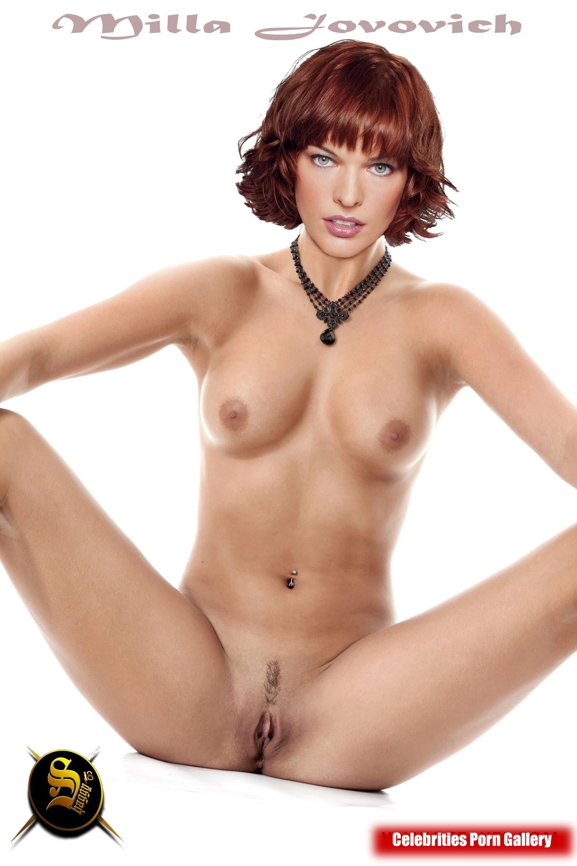 Milla Jovavich Nude