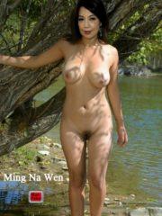 Ming Na Wen naked free nude celeb pics