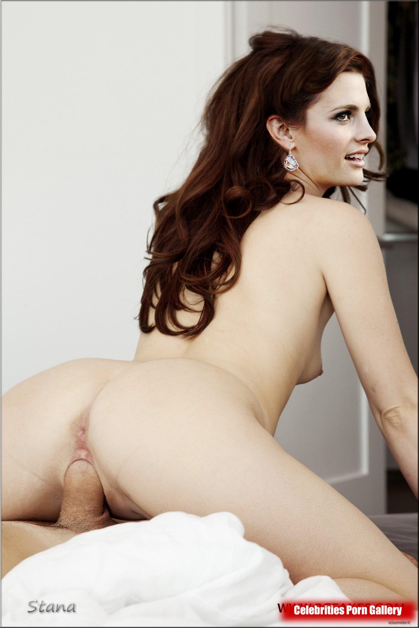 Stana Katic Nude Scene