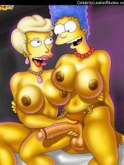 The Simpsons celebrity nude pics