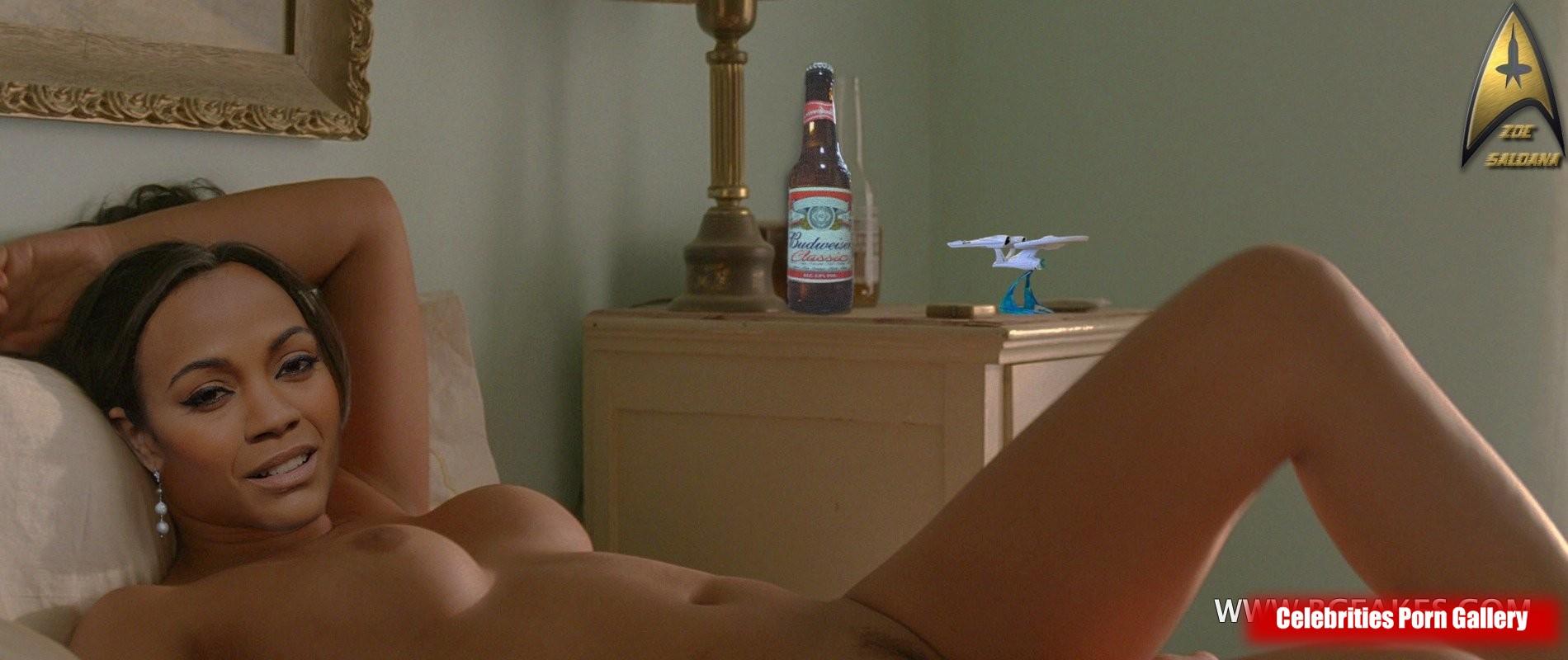 Zoe saldana pussy gif